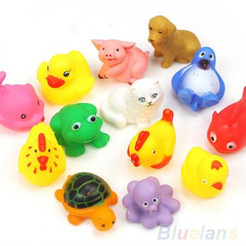 Детская игрушка для купания OEM 13Pcs Sqeeze 1QKM 9543 детская игрушка для купания new 36 00