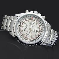 1PC Elegant Man Men's Boy's Luxury Xmas Gift Dress Curren Calendar Analog Quartz Wrist Watches Hours, 8053