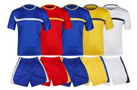 24127Short sleeve soccer uniform