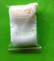 Free shipping!1000pcs 50 X 60mm Nylon filter bag, Single string tea filters, Empty tea bag, for filter herb tea
