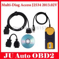 2015 Latest Multi-Di@g Access J2534 Pass-Thru OBD2 Multi-Diag Device 2013.02V Powerful J2534 Interface