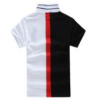 Casual 100% cotton England style patchwork polo ralphly men shirt size M--XXXL camisas masculinas polo