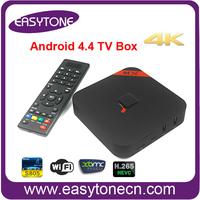 XBMC 4K HDMI media player MXQ Android 4.4.2 TV BOX Amlogic S805 Quad Core 1GB/8GB High quality Set-top Boxes Free Shipping