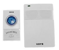 Free Shipping VOYE V005A Home Security 1 to 1 Received 30-50m Intelligent Wireless Doorbell