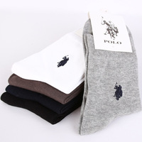 (5pairs/lot)Big Size Great Quality Men's Cotton Socks Four Colors Male Casual Sock Free Shipping W2066