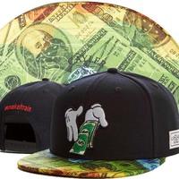 2014 new black gold adjustable baseball snapback hats and caps for men/women sports hip hop mens/womens fashion street headwear