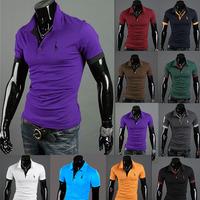 man Crocodile logo new spring 2014 men tee famous brand France casual t shirt shirts fitness slim fit t-shirts men clothing