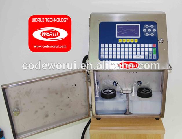 WRS-150 small character cij inkjet printer for printing on food capsule(China (Mainland))