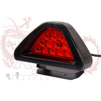 KYLIN STORE -- BRAKE LAMP  TYPE R 12 RED LED Flashing Blink Triangle Light F1 Style