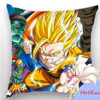 45X45 18INCH peach skin Anime Dakimakura pillow case -  Dragon Ball Z ~ Goku Son QLZ-010