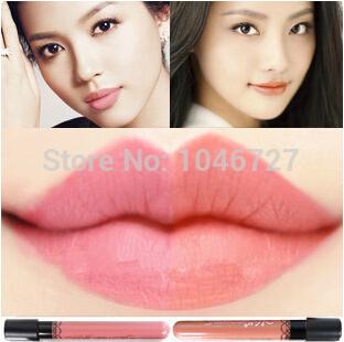 Free Shipping Waterproof Elegant Daily Color Lipstick matte smooth lip stick lipgloss Long Lasting Sweet girl Lip Makeup(China (Mainland))