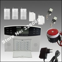 Best selling 4 Wired+99 Wireless Defense Zone Wireless GSM Security Alarm System