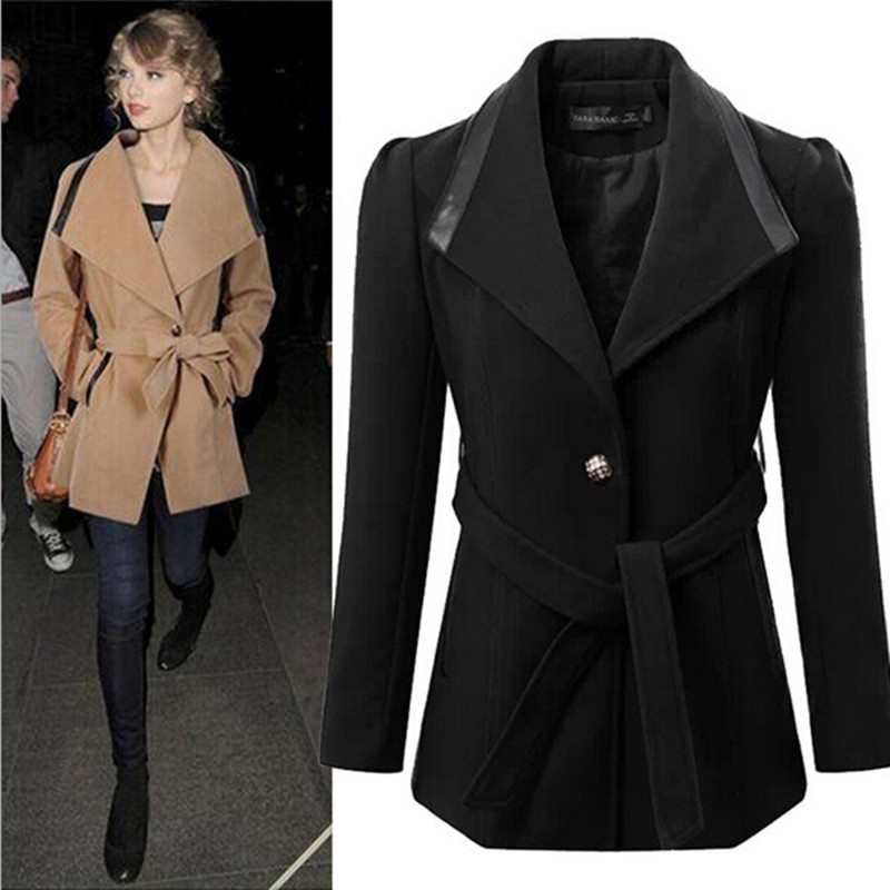 Black Womens Winter Coats - Tradingbasis