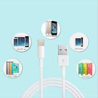 50% OFF Discount 100CM  Data Sync Adapter Charger USB 8 pin Charger Cable For iPhone 5 5g 5S 5C iPad Mini iPod Touch 5