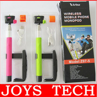 Z07-5 Universal Bluetooth Wireless Monopod Handheld Mobile Phone Holder for ios android Smartphone Cradle Bracket