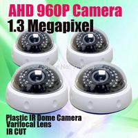 Varifocal Lens Dome Camera indoor 30pcs IR Leds Day night vision 1.3 MP 960P HD AHD Megapixel CCTV Security Camera
