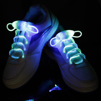 2014 Hot LED Shoe Laces colored Waterproof shoes glow in the dark 800*20mm LED Shoelaces Shoes Accessories no tie shoelaces.