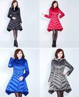 Plus size New 2014 Fashion Faux Fur Collar parkas for women winter Hoody White Duck Down Jacket Women parka Free shipping B2318