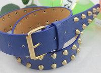 2014 NEW Fashion Men and women belt Kids Belts Children Boy Waist PU Leather School Jean belts Pin Buckle Free shipping