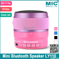 Portable Mini Wireless Bluetooth Speaker Subwoofer Audio Vibration boombox With Fm Radio MP3 Player Handfree Call LY110