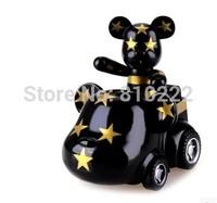 Special 2 inch tall POPOBE Bear Car Momo bear Gloomy Bear Volence Bear Toy Car Interior Decorations Car Styling Ornaments Toy US