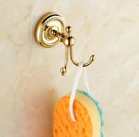 Wall Mounted Antique Brass Finish Bathroom Accessories Robe Hooks Coat Hook,Wall Hook