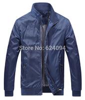 M-3XL 2014 Autumn New Men's Jacket Casual Stylish Slim Fit Zip Coat Men Original Polo Active Outweat Jackets,Drop Shipping,R1098