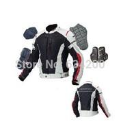 Komine jk-069 titanium alloy genuine leather net fabric automobile race clothing motorcycle clothing