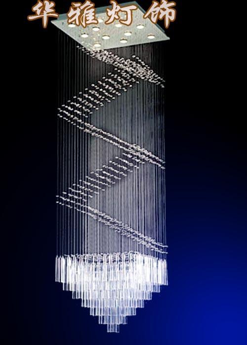Modern lighting fixtures luxury penthouse living room floor lamp chandelier crystal chandelier B258(China (Mainland))