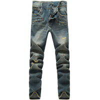 New Fashion 2014 leisure Casual skinny slim stylish 100% cotton original brand men jeans classic pants size:28~38