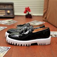 2014 men's leather  Flats Sneakers Wedding shoes sport Oxfords For men EUR :38-44 J-14