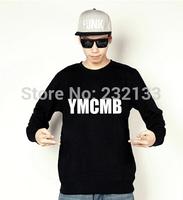 YMCMB Sweatshirts 2014 Men's Cheap hip hop sweatshirt 15 styles sportswears Free Shipping Size S-XXL