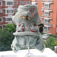 Autumn Winter Four Feet Warm Dog Jacket Sweater Clothes Dog Clothing Wear Coat
