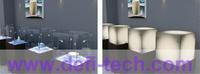 2m * 1m  WHITE Self-adhesive Smart Film , Switchable Film