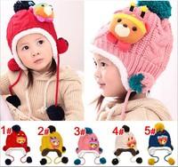Children's Winter knitted hats Girls Christmas hats  LG5865CH