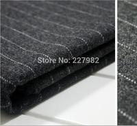 Plain coloured stripe wool suit trousers cloth, woolen cloth garment fabrics DIY fabric