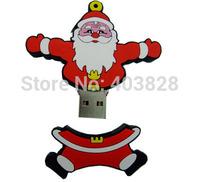Father Christmas Gift USB Flash Pen Drive 4GB 8GB 16GB 32GB Lovely Santa Claus USB Memory Stick Santa klause Thumb Drive