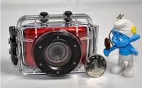 Outdoor sports digital waterproof camera hd 720 p DV head-mounted movement on-board miniature camera