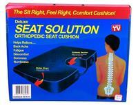 Free Shipping New U cushion Seat Solution Memory Cushion Adjust Spine Body Health Care Hot Sale