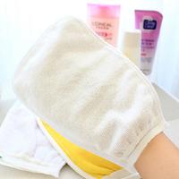 8 pcs/Lot _ Multicolour Double Side Shower Towel Wash Mitt Rubbing Mitts random color