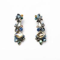 2014 Vintage Royal Style Chandelier Stud Earring Women Charm Earring Fashion Earring Free Shipping (Min $20 can mix)