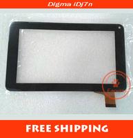 "Black New 7"" DIGMA IDJ7N idj 7n Tablet SL--003 touch screen LCD digitizer panel Sensor Glass Replacement Free Shipping"