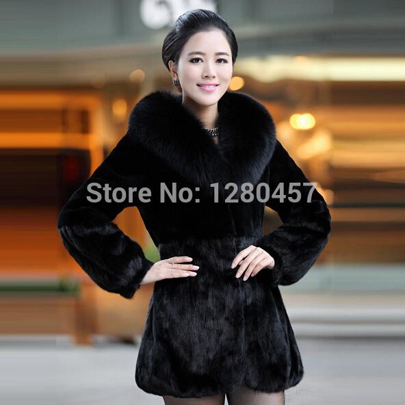 Женская одежда из меха WenZe F09268 женская одежда из меха jinyao 6688 sfur 027