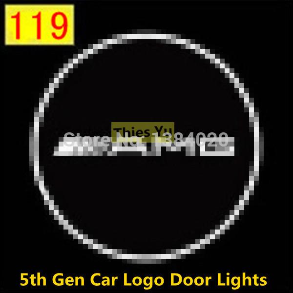 7W автомобиля логотип огни шаг земли