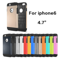 New arrived cover for iphone 6 SLIM ARMOR SPIGEN SGP case for iPhone6 hard cover for iphone 6 phone cases