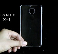 For Motorola Moto X2 X+1 XT1097(2014) Transparent Clear Crystal plastic hard case cover,Material Glossy case,1pcs