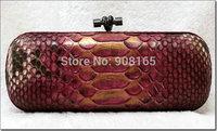 free shipping snake skin handmade women brand clutches BLT0035