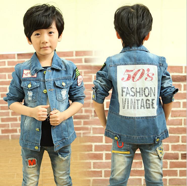 Kids Fashion Boys Casual New Fashion Boys Casual Denim