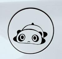 Free Shipping Lovely Car Stickers, Panda Car Decal , Bear Cat Waterproof On Rear Windshield Door Tank Lid Sticker
