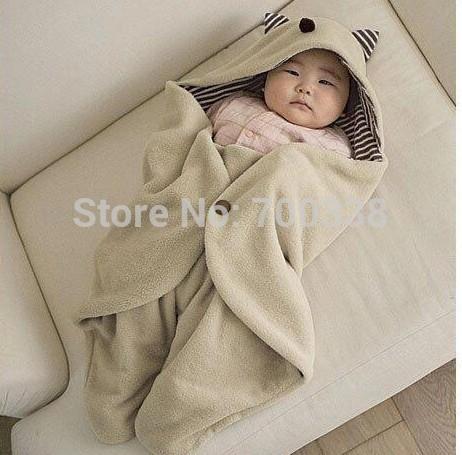 Baby Footmuff Parisarc Blanket Hoodie Swaddle stroller sleeping bag Cart Stroller Sack 78*90CM Newborn Autumn Winter Sleepsacks(China (Mainland))